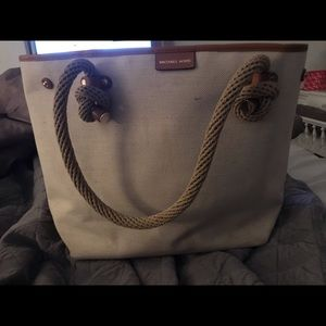 Michael kors rope tote bag